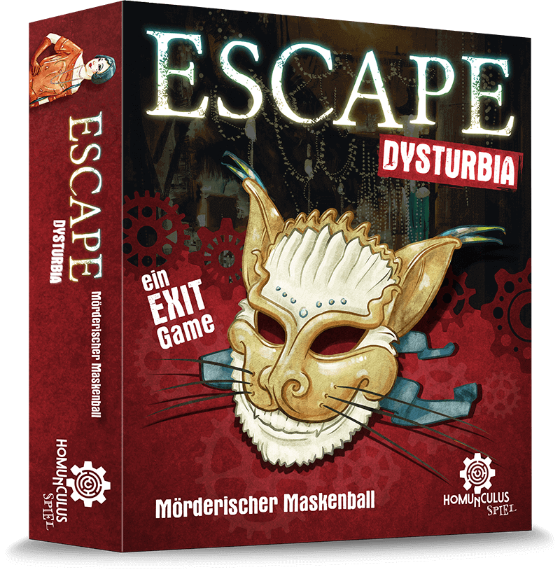 Escape Dysturbia enigmania